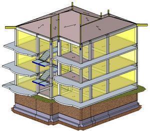 Progetto strutturale di un fabbricato in struttura mista ...