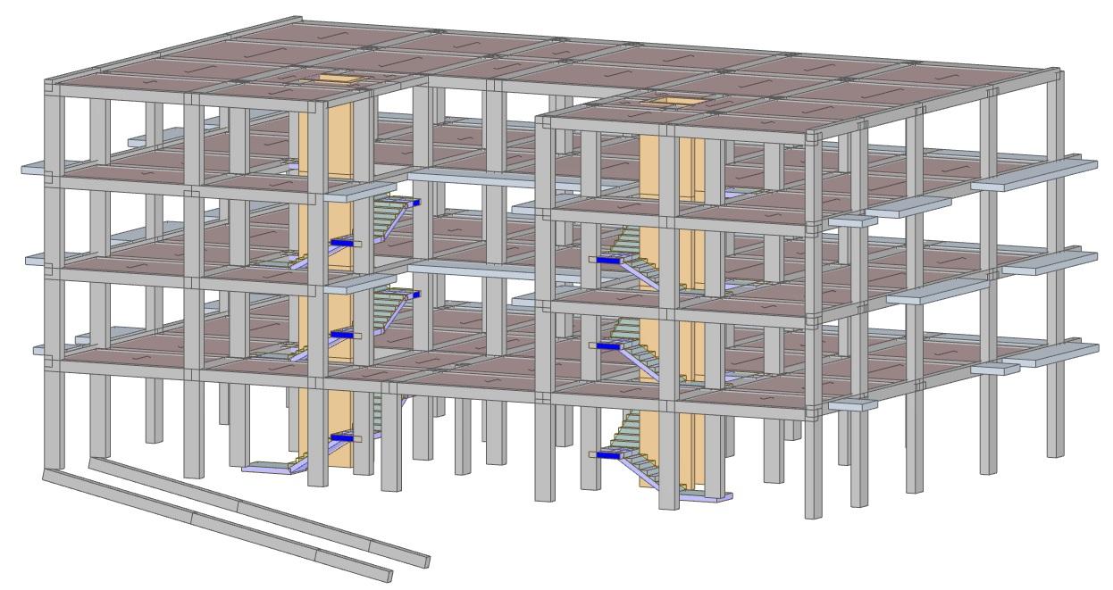 Progetto strutturale di un edificio adibito a civile ...